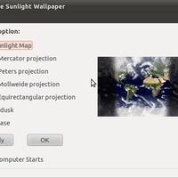 Élő háttérkép Ubuntu 10.10 / 10.04 -hez .: