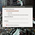 Unity 2D-settings: Egyszerű felület az  Unity 2D beállításához - Ubuntu 11.04 .: