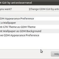 Bejelentkező képernyő megváltoztatása szkript segítségével Ubuntu 10.10 alatt .: