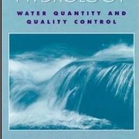Hydrology: Water Quantity And Quality Control Books Pdf File