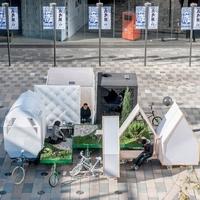 Tricikli kertek - kínai mobil ház és kert egyben