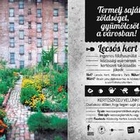 Közösségi kertek - veteményest Mindenkinek!