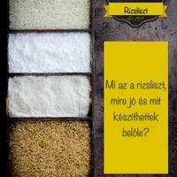 Gluténérzékenyek liszt kisokosa I.- A rizsliszt