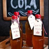 Herba Cola recept: házi kóla szirup szódával
