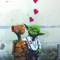 Valentin -  street art love