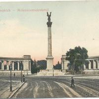 A századforduló építészeti botránya - 1900. április 6-án megrepedt a Millenniumi Emlékoszlop