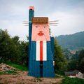 Melanie után Donald Trump is szobrot kapott Szlovéniában