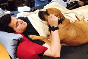 Lemásolta a kutyája tetoválását, nem tudta mit jelent