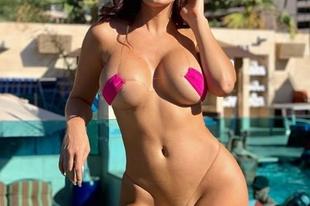 A világ legkisebb bikinije irtó dögös