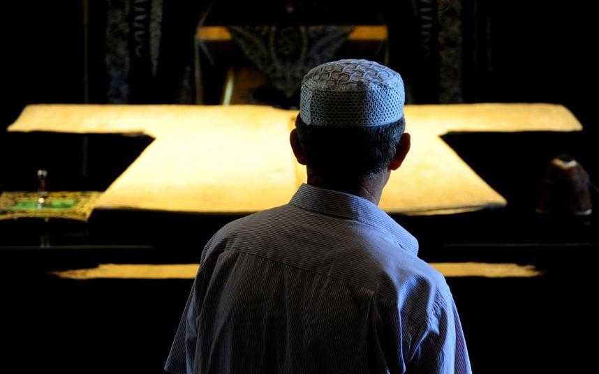 Mohamed próféta palástja Kandaharban