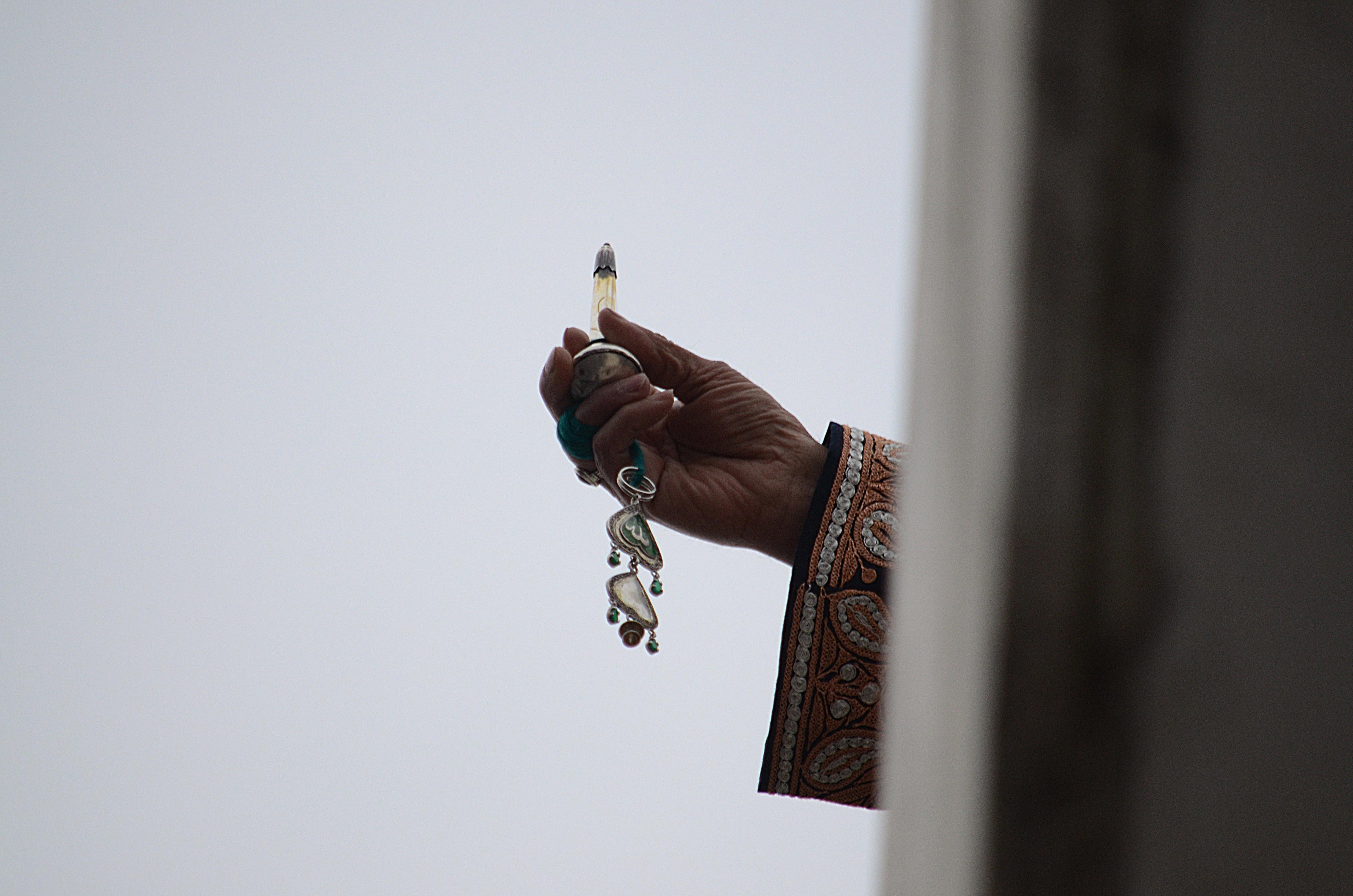 Mohamed próféta hajszála Srinagarban