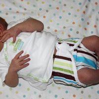 Újszülöttek pelenkázása