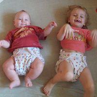 Mi is mosható pelust használunk - Viki és Julinka, Laura