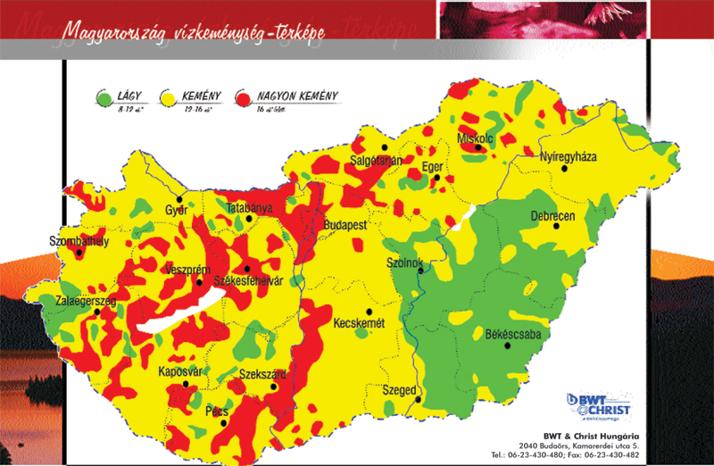 magyarország vízkeménység térkép Calgon   Élvezd a pelenKalandot! magyarország vízkeménység térkép