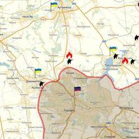 Harcok a Szvetlodarszki ívnél Ukrajnában