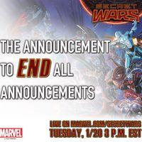 Nagy Secret Wars-bejelentés!