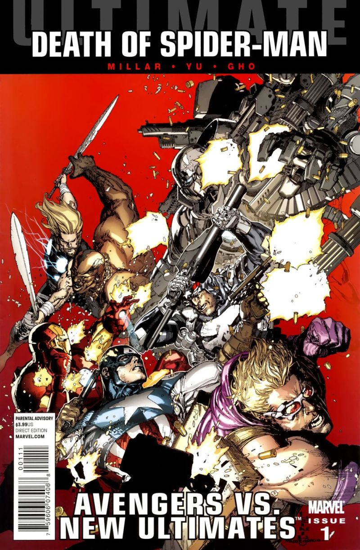 Ultimate Avengers vs. New Ultimates #1