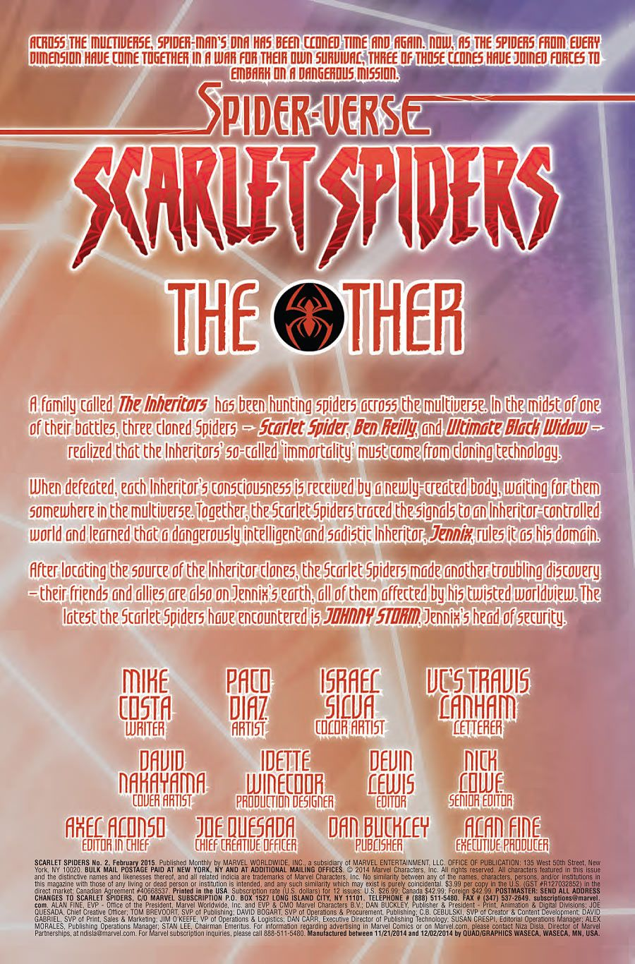 Scarlet Spiders #2