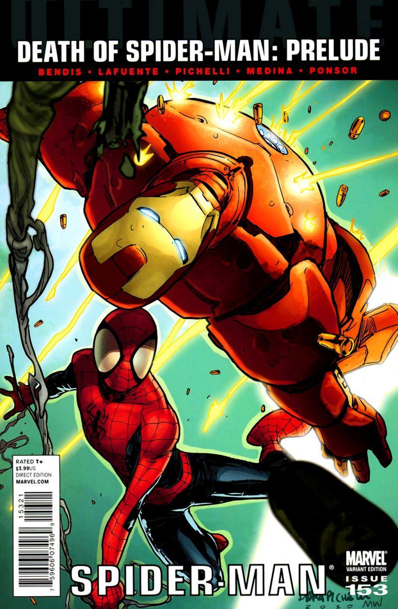 Ultimate Spider-Man #153 – Alternatív borító