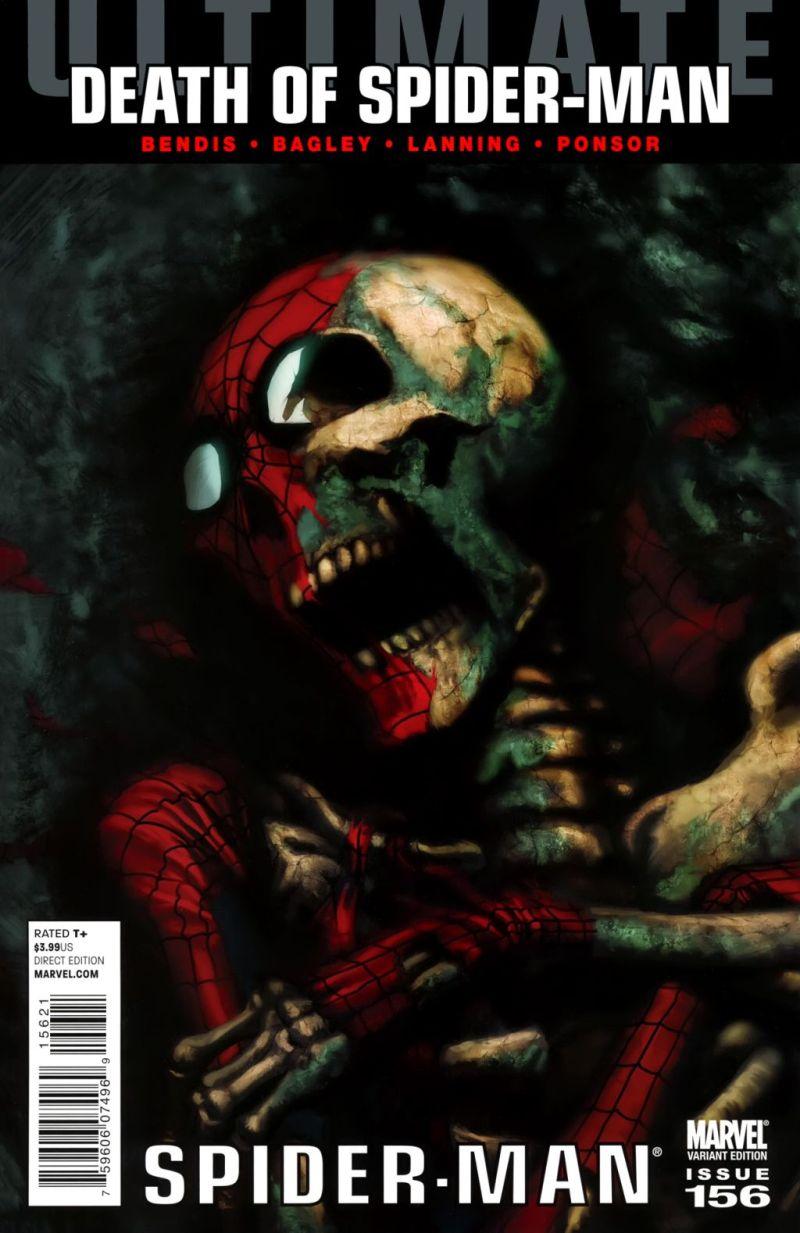 Ultimate Spider-Man #156 – Alternatív borító