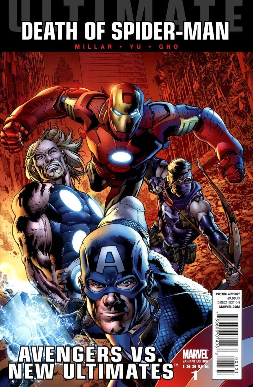 Ultimate Avengers vs. New Ultimates #1 – Alternatív borító