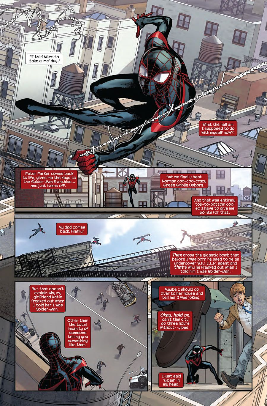 Miles Morales: The Ultimate Spider-Man #10