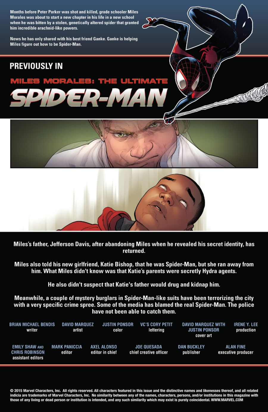 Miles Morales: The Ultimate Spider-Man #11