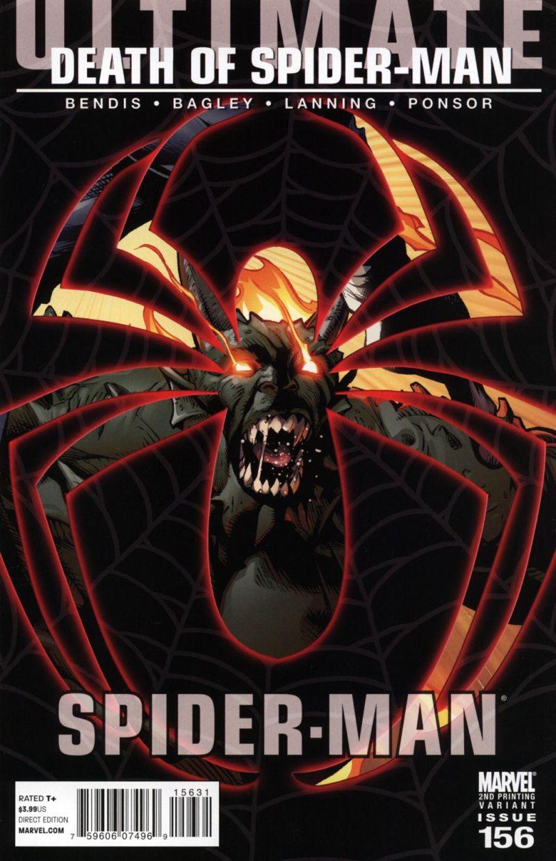 Ultimate Spider-Man #156 – A 2. kiadás borítója