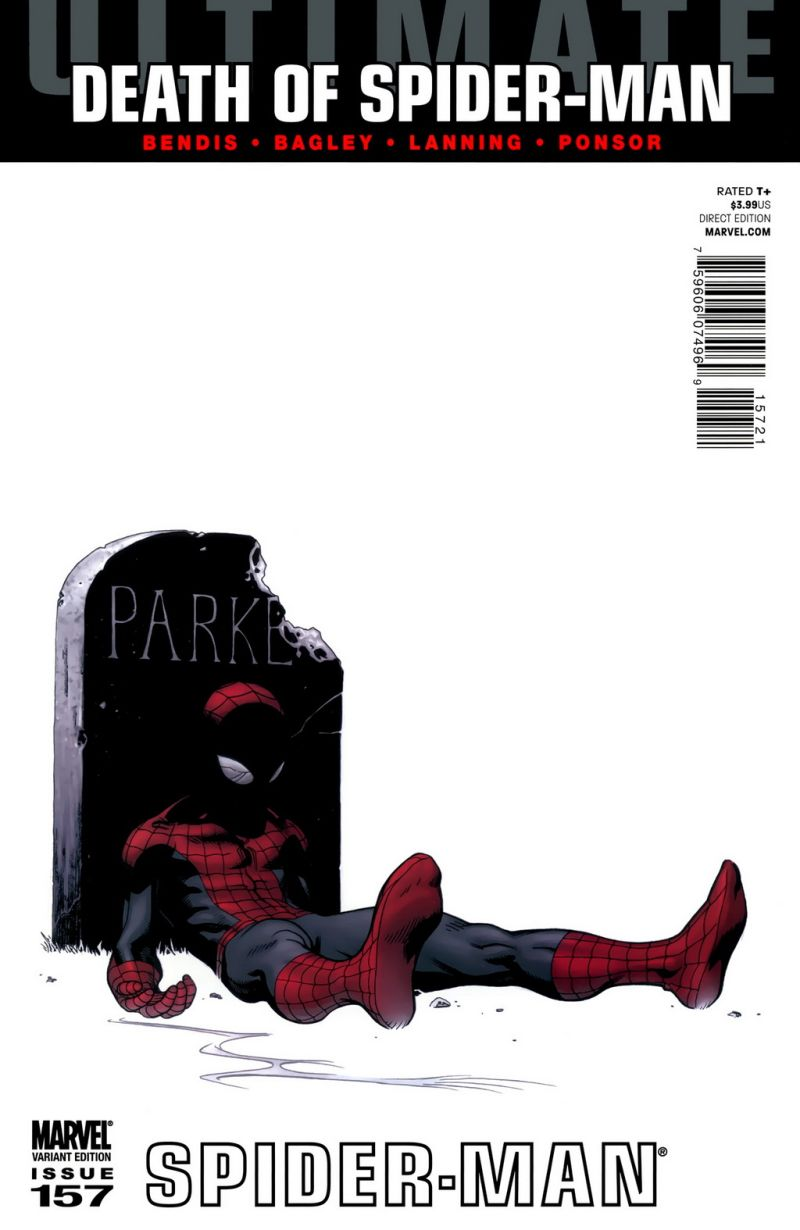 Ultimate Spider-Man #157 – Alternatív borító