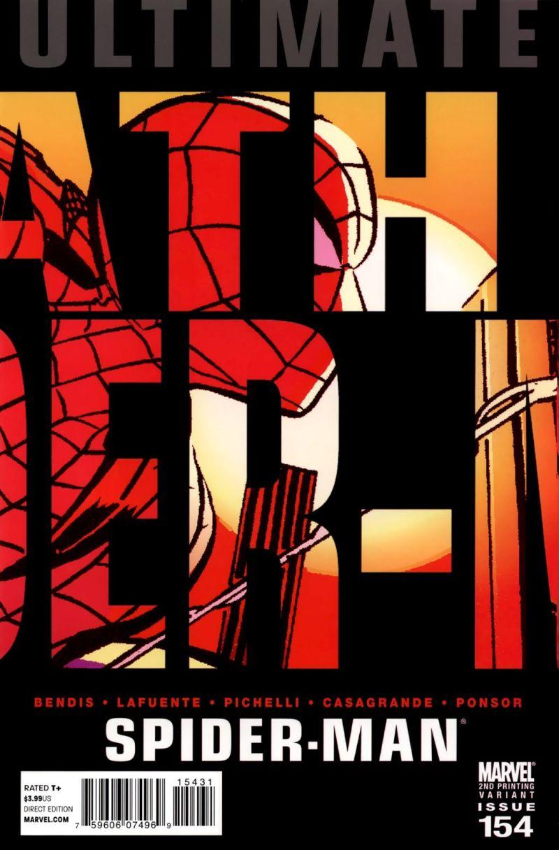 Ultimate Spider-Man #154 – A 2. kiadás borítója
