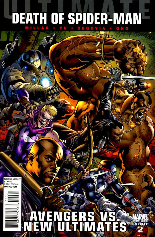 Ultimate Avengers vs. New Ultimates #2 – Alternatív borító
