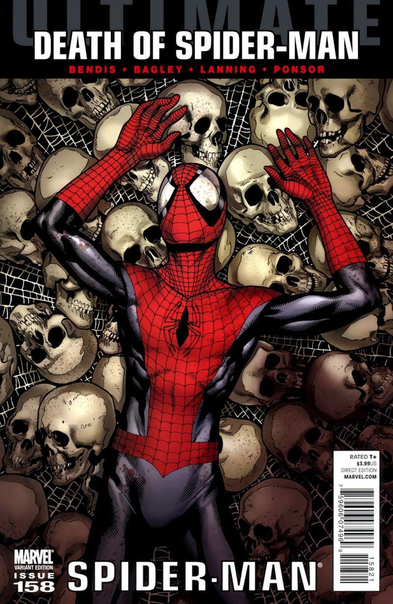 Ultimate Spider-Man #158 – Alternatív borító