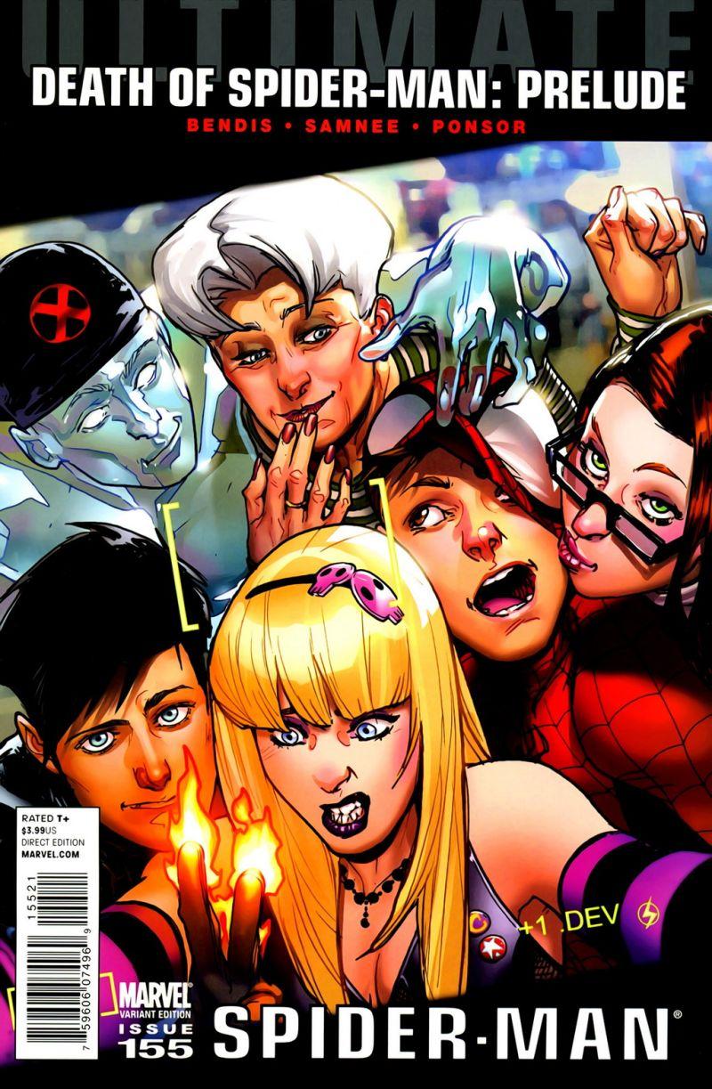 Ultimate Spider-Man #155 – Alternatív borító