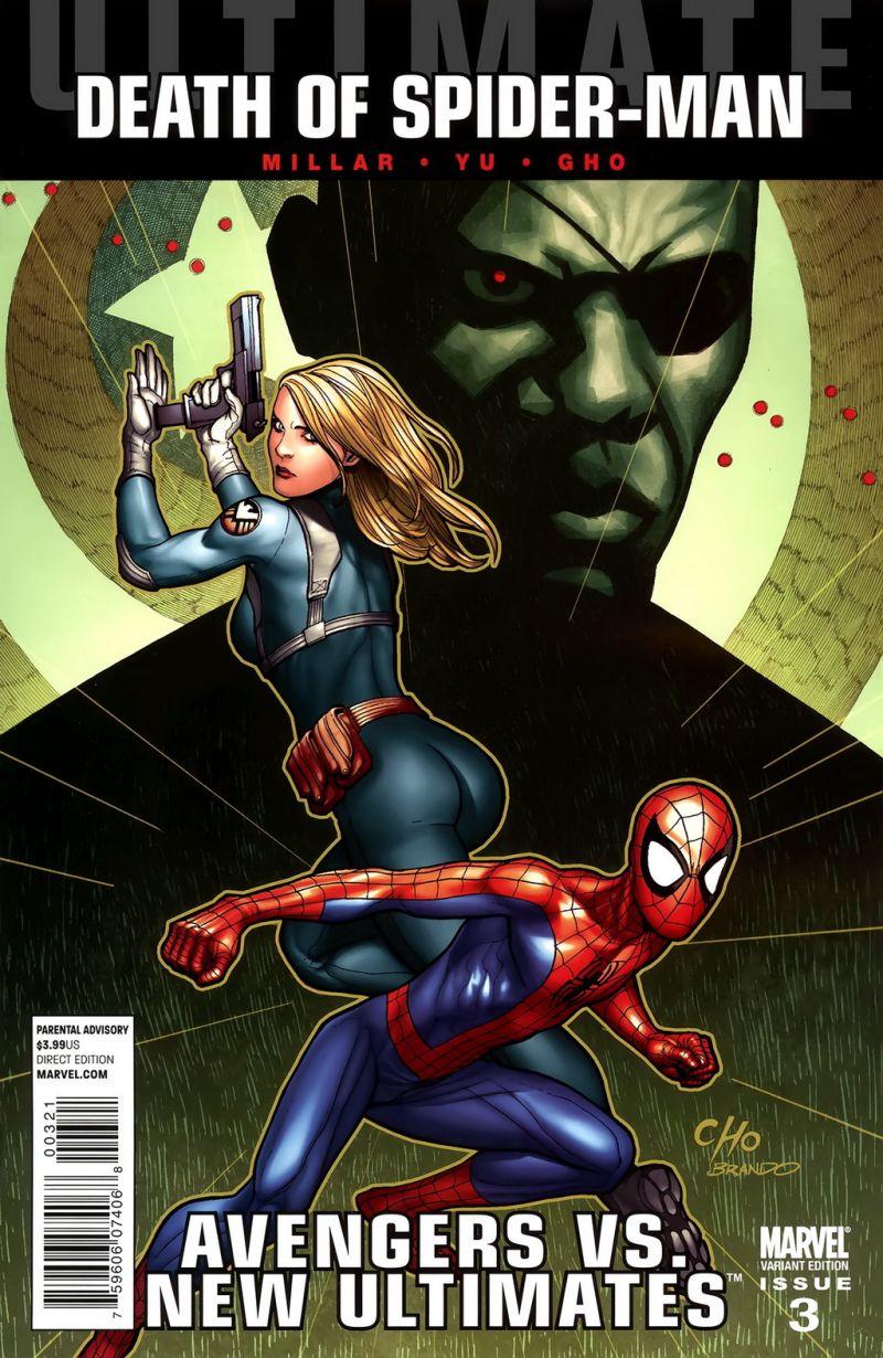 Ultimate Avengers vs. New Ultimates #3 – Alternatív borító