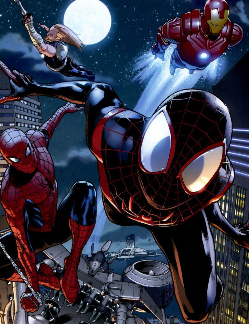 A két Pókember és a Különítmény akcióban