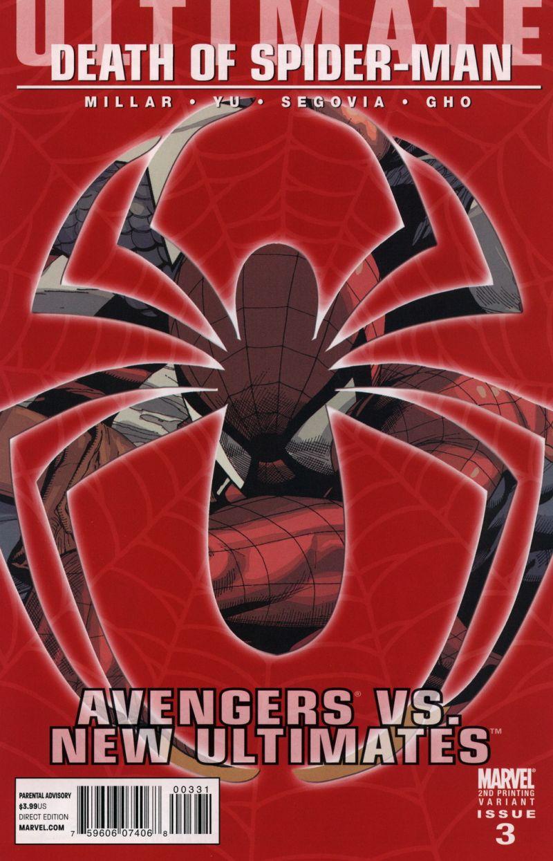 Ultimate Avengers vs. New Ultimates #3 – A 2. kiadás borítója