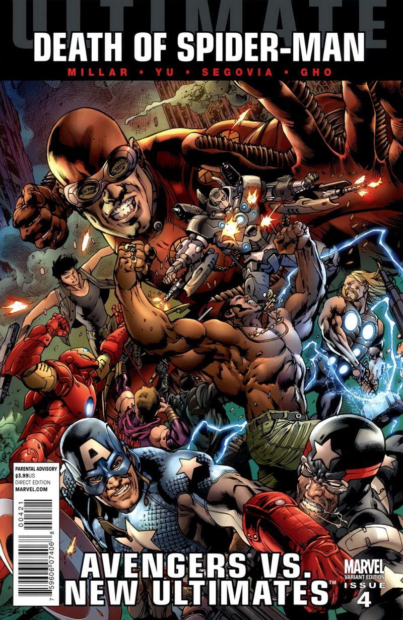 Ultimate Avengers vs. New Ultimates #4 – Alternatív borító