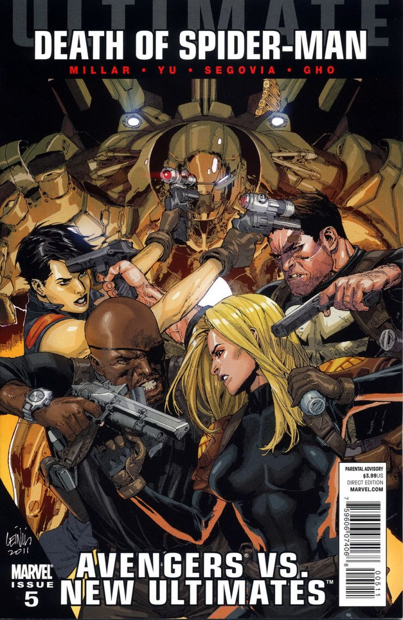 Ultimate Avengers vs. New Ultimates #5