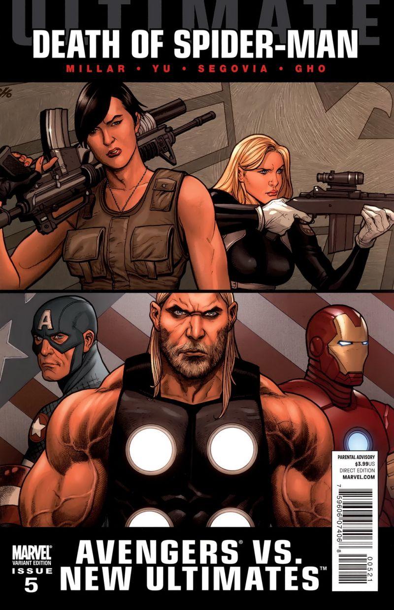 Ultimate Avengers vs. New Ultimates #5 – Alternatív borító