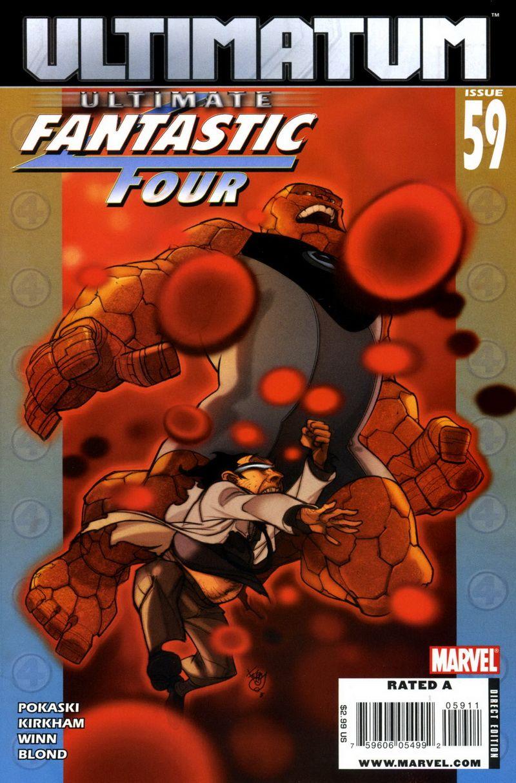 Ultimate Fantastic Four #59