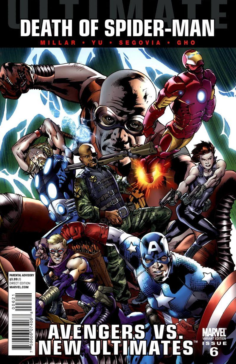 Ultimate Avengers vs. New Ultimates #6 – Alternatív borító
