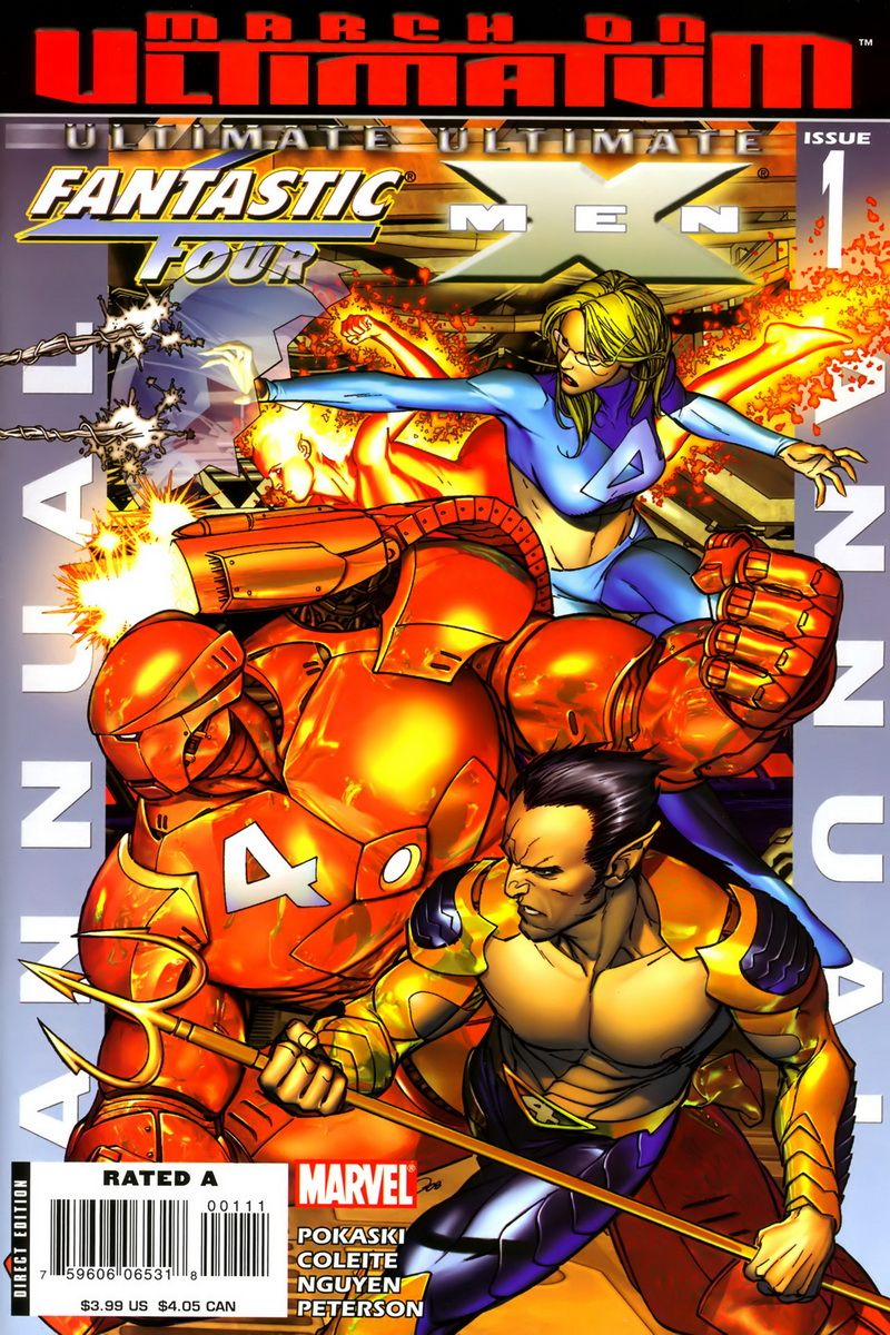 Ultimate Fantastic Four / Ultimate X-Men Annual #1