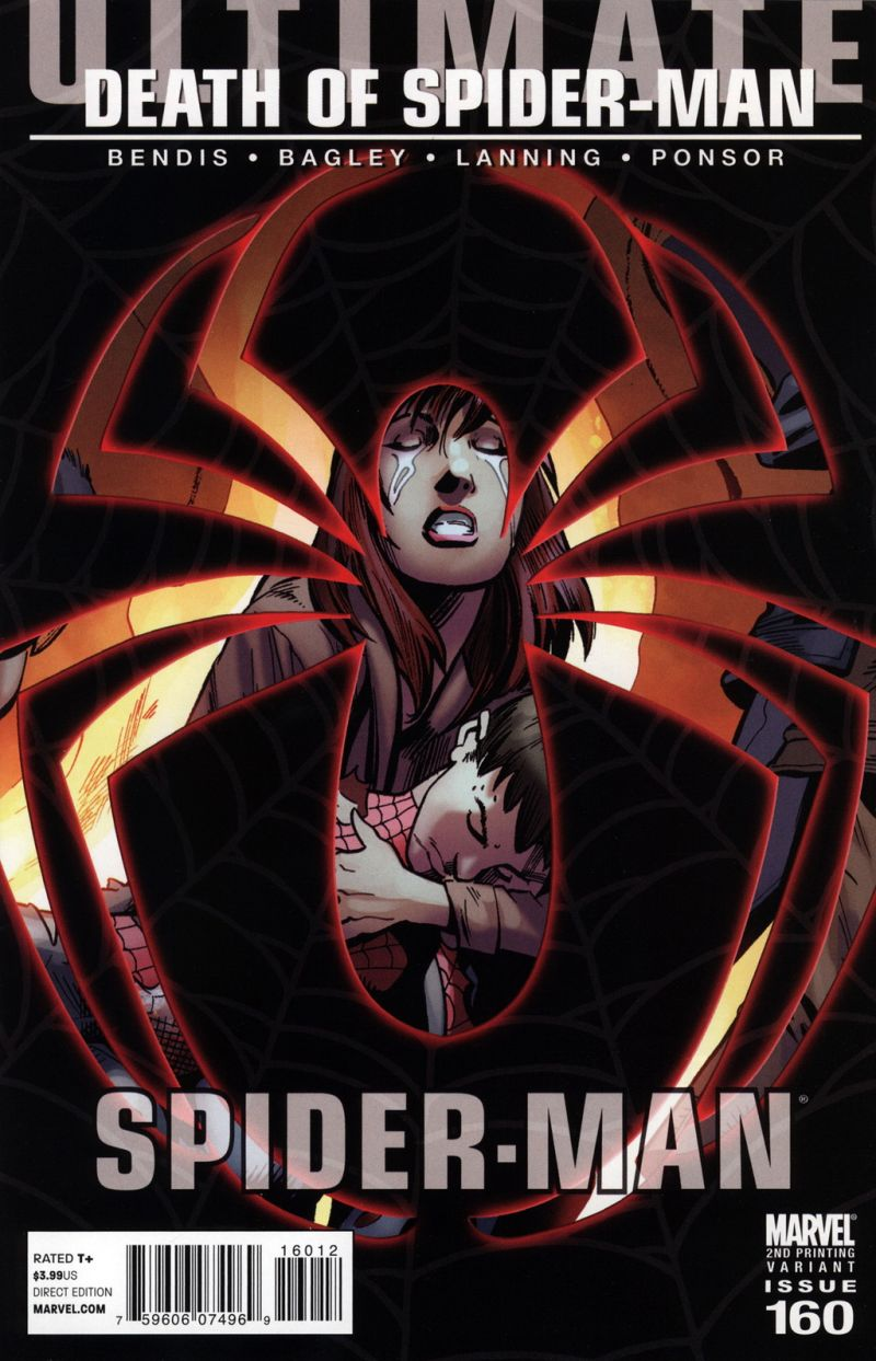 Ultimate Spider-Man #160 – A 2. kiadás borítója