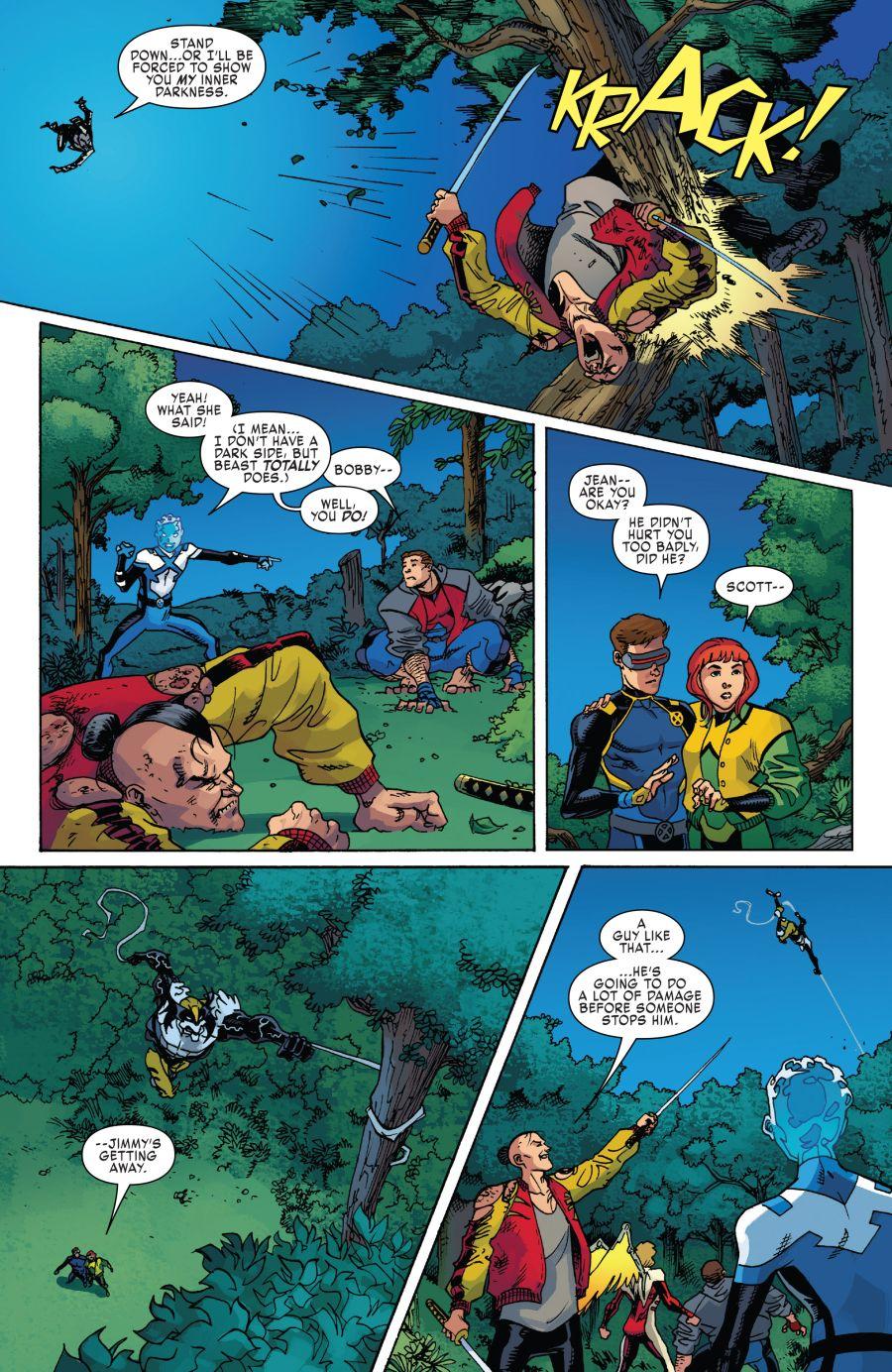 X-Men Blue #30