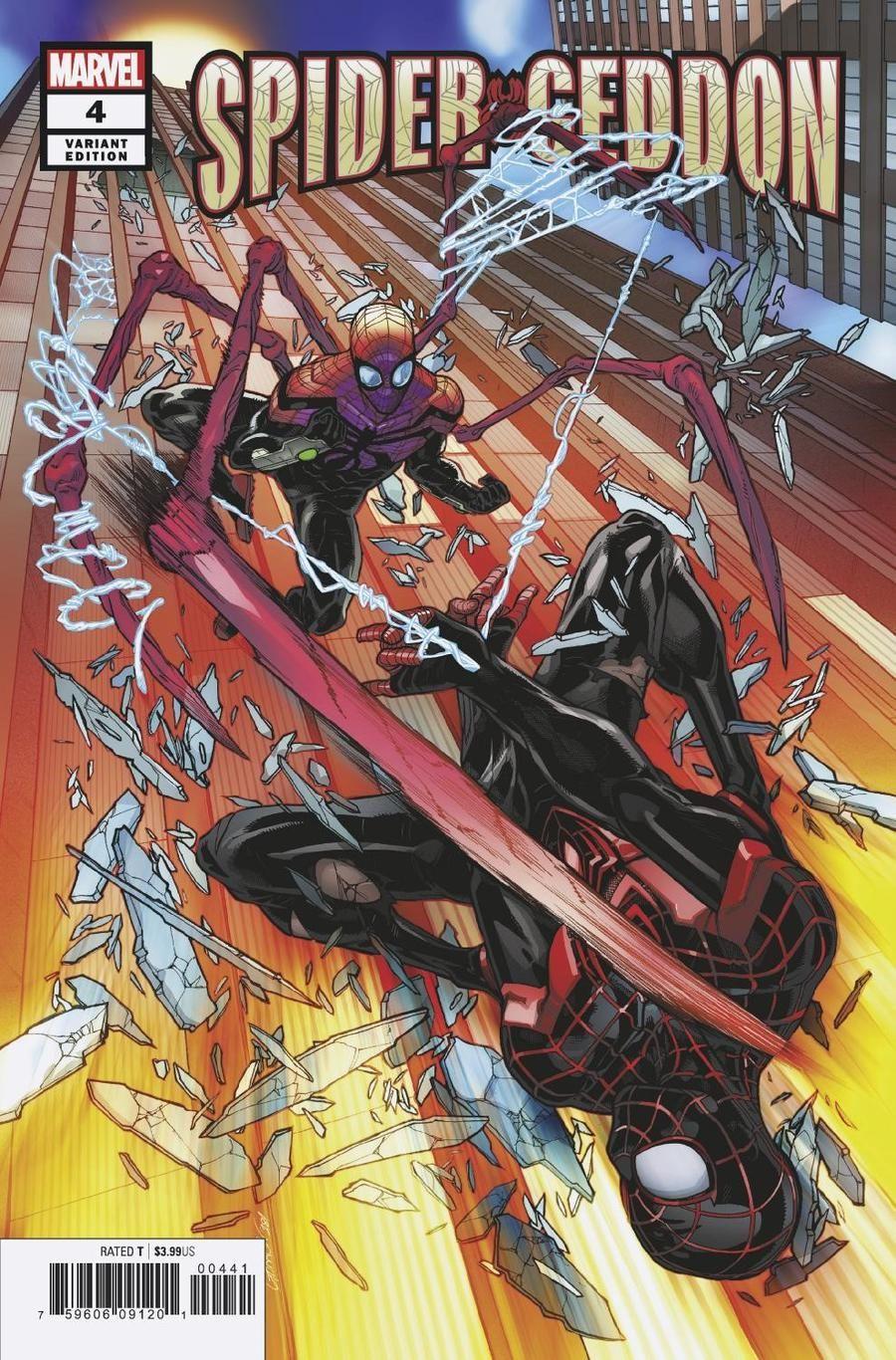 Spider-Geddon #4