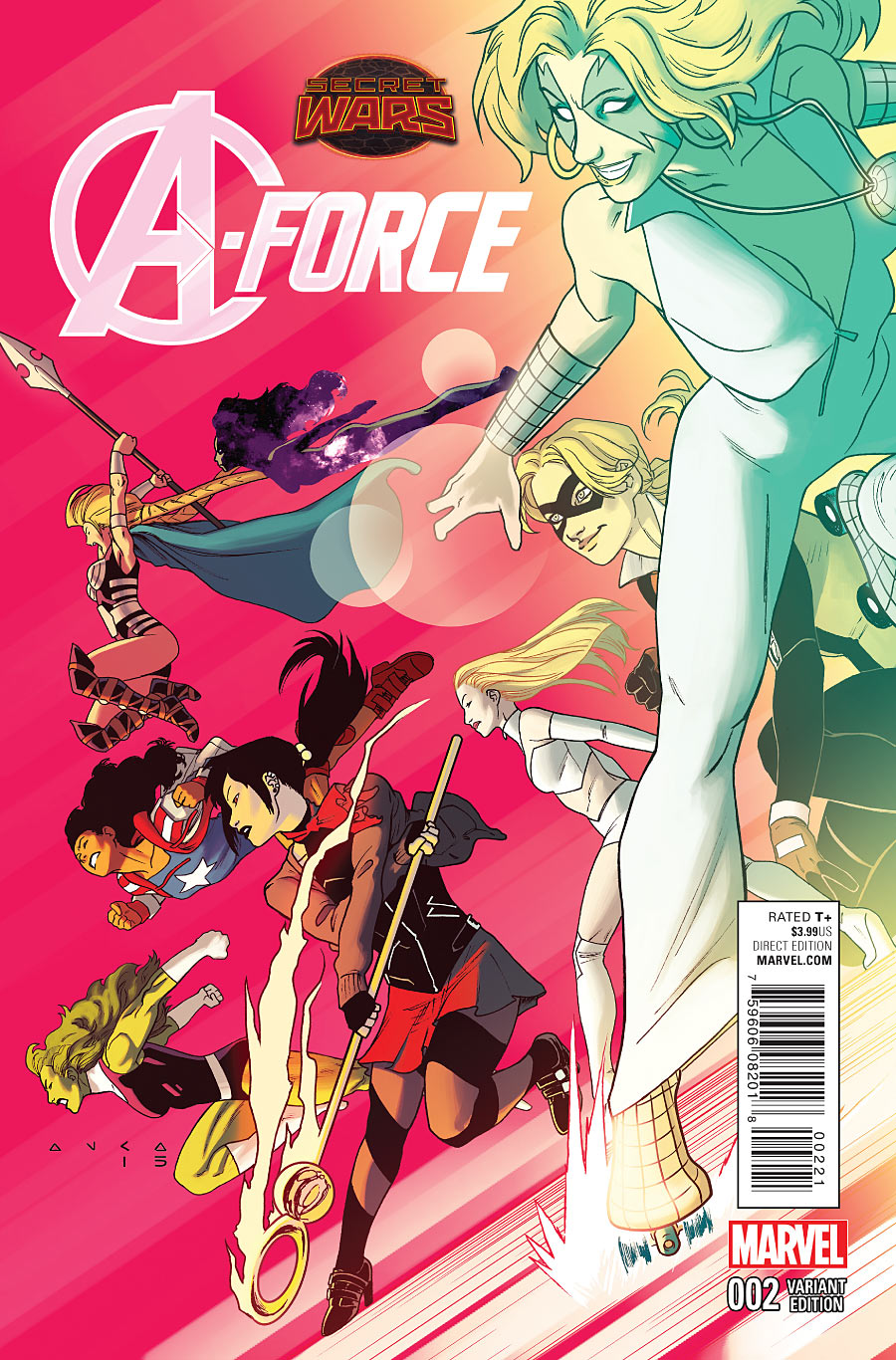A-Force #2