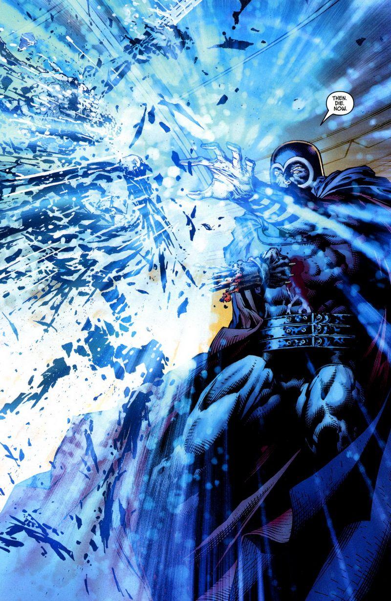 Magneto atomjaira szedi Rozsomák fémcsontvázát