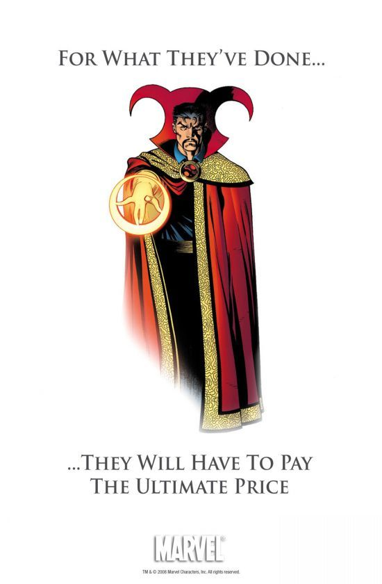 A tetteikért fizetni fognak – Doktor Strange