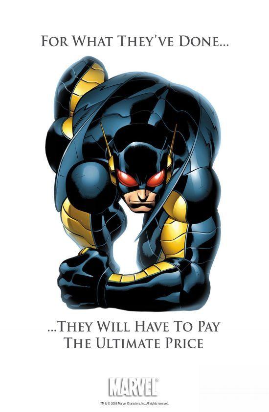 A tetteikért fizetni fognak – Hank Pym