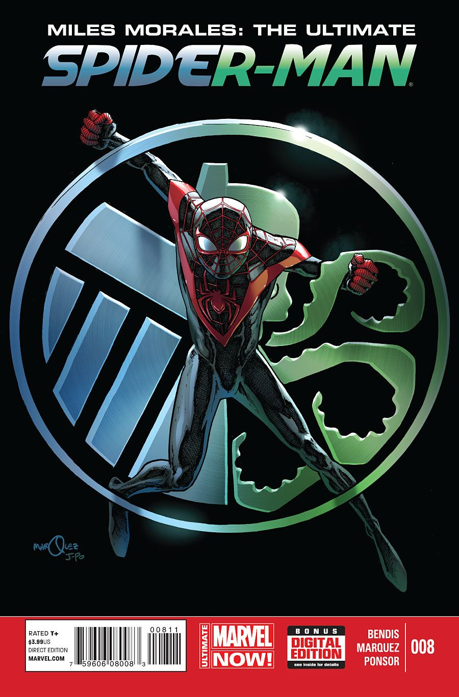 Miles Morales: The Ultimate Spider-Man #8